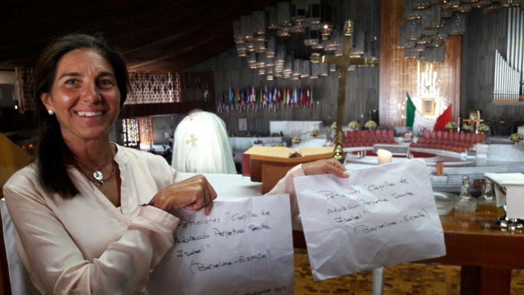 Nuestras peticiones han sido llevadas a la Virgen de Guadalupe