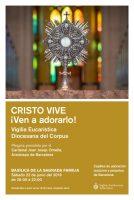 VIGILIA EUCARISTICA CORPUS CHRISTI